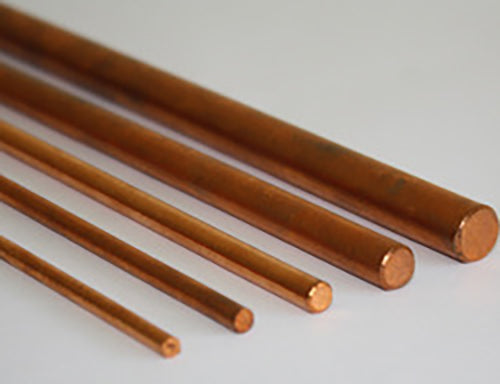 Pin Material - Copper Rod 3/16