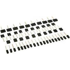 50 pc Foam Brush Set