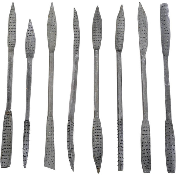 Riffler Rasp Set - Coarse (Aggressive)  - 8 pc Set - 8