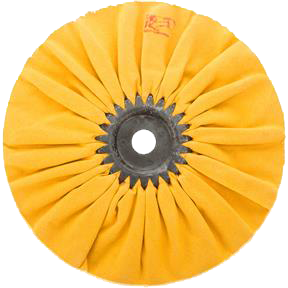 "Buffing Wheel - Hard Airway 8"" x 12 Ply x 5/8"" Hole"