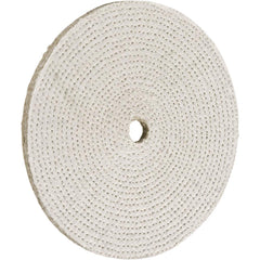 "Buffing Wheel - Laminated Sisal - 8"" x 1/2"" x 5/8"" Hole"
