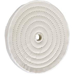 "Buffing Wheel - Loose Muslin 8"" x 40 Ply x 5/8"" Hole"