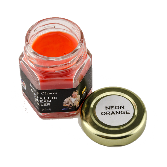 Jimmy Clewes Solid Color Cream Filler - Neon Orange