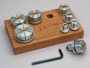 Beall I-X Collet Set with Cherry - WoodWorld of Texas