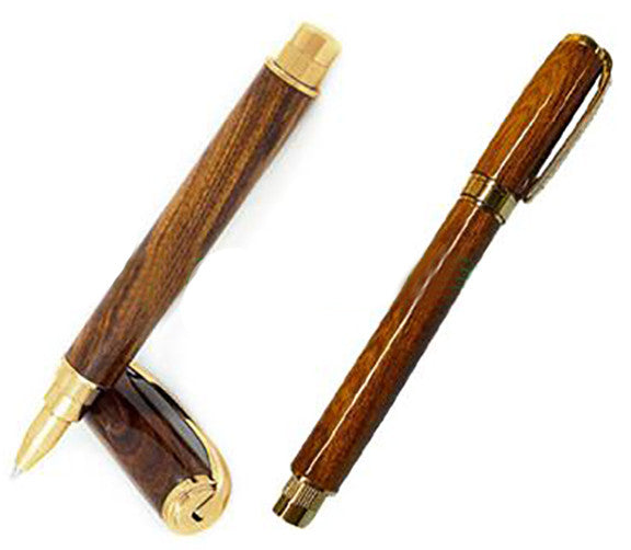 Magnetic Graduate Rollerball & Fountain Pens - WoodWorld of Texas