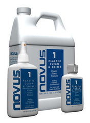 Novus Plastics Polish #1 : Cleans and Shines