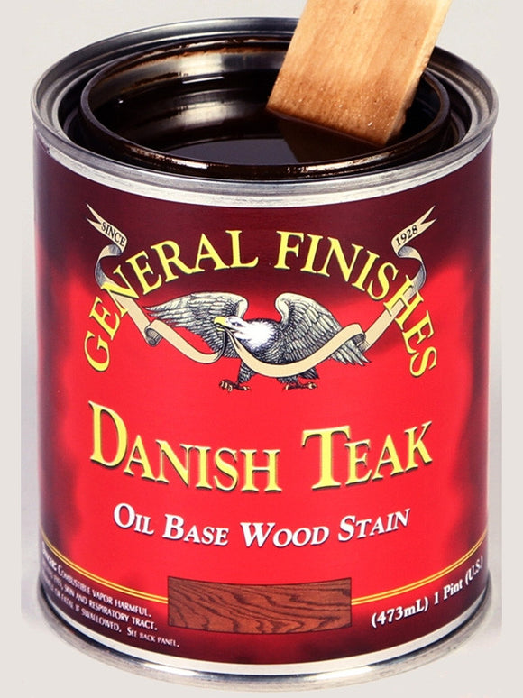General Finishes Oil Based Liquid Wipe-On Penetrating Wood Stains - WoodWorld of Texas