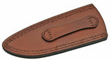 "Knife Sheath Leather - SH660609 - 2.75"" x 6.75"" Open Top - WoodWorld of Texas"