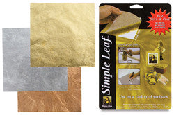 Simple Leaf - Composite Metal Leafing 18 Sheet Packs - WoodWorld of Texas