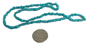 "Sleeping Beauty 18"" Natural Turquoise Strands - WoodWorld of Texas"