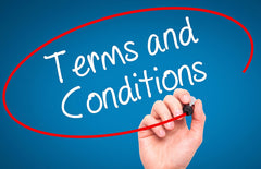 Online Sales Terms and Conditions