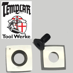 Templar Tool Werke - Mega Carbide Spindle Tool 15 mm Square / Radius R4 Carbide Cutter & Screw