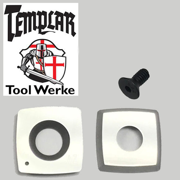 Templar Tool Werke - Mega Carbide Spindle Tool 15 mm Square R2 Carbide Cutter & Screw
