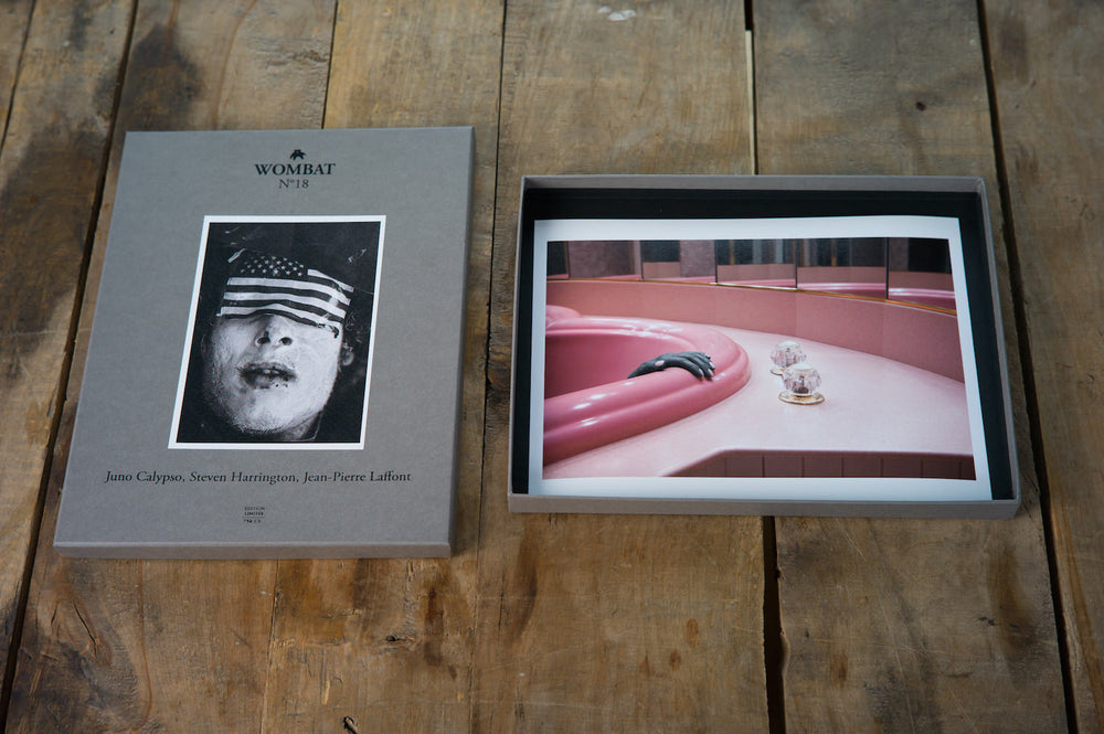 N°18 - Juno Calypso, Steven Harrington, Jean-Pierre Laffont - Wombat - The Photography and Art Box