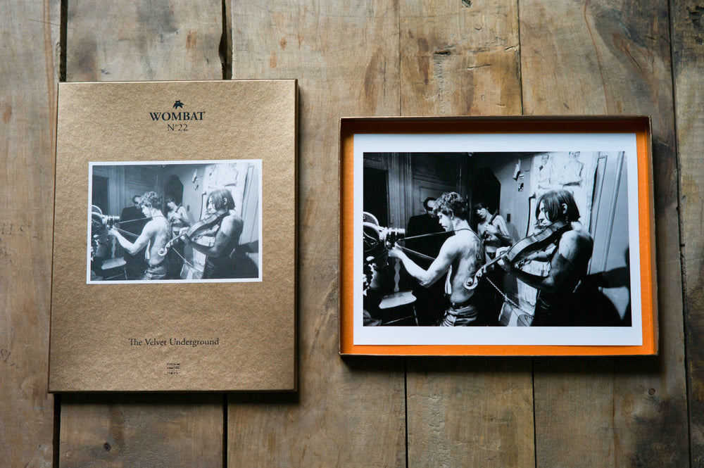 N°22 - The Velvet Underground - Wombat - The Photography and Art Box