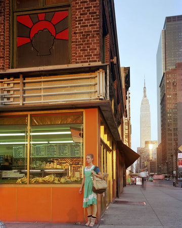 Young Dancer, New York City, 1978. Joel Meyerowitz. - Wombat - The Photography and Art Box