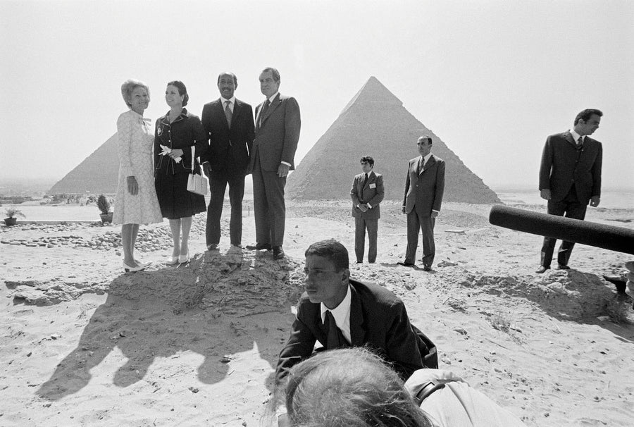 Egypte, pyramides de Gizeh, 1974 - Wombat - The Photography and Art Box