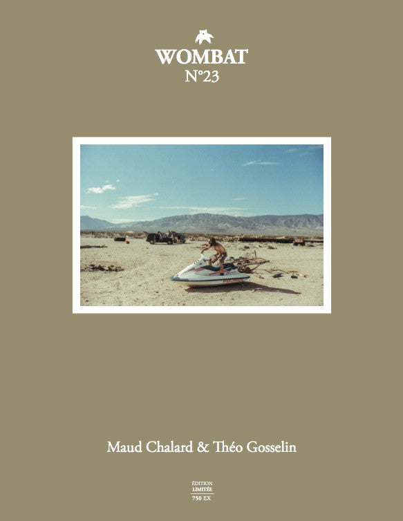 N°23 - Maud Chalard & Théo Gosselin - Wombat - The Photography and Art Box