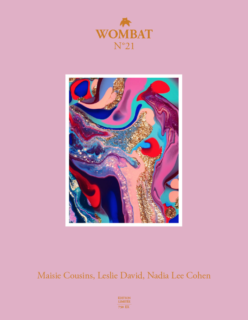 N°21 - Maisie Cousins, Leslie David, Nadia Lee Cohen - Wombat - The Photography and Art Box