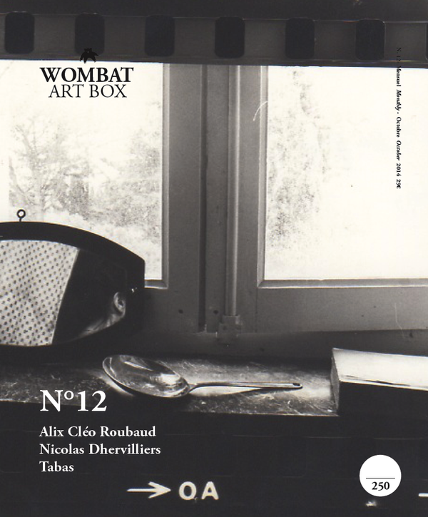 N°12 - Alix Cléo Roubaud, Nicolas Dhervilliers, Tabas - Wombat - The Photography and Art Box