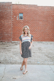 Zig Zag Dress (S-3XL)