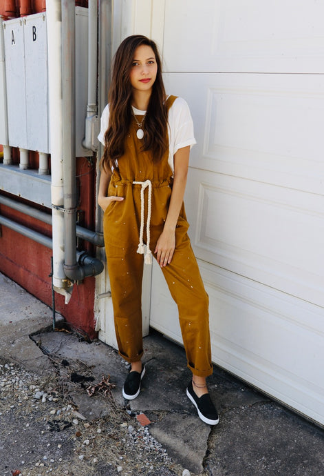 Camel Overalls