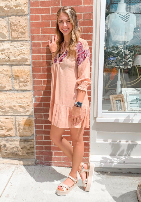 Blushed Away Dress