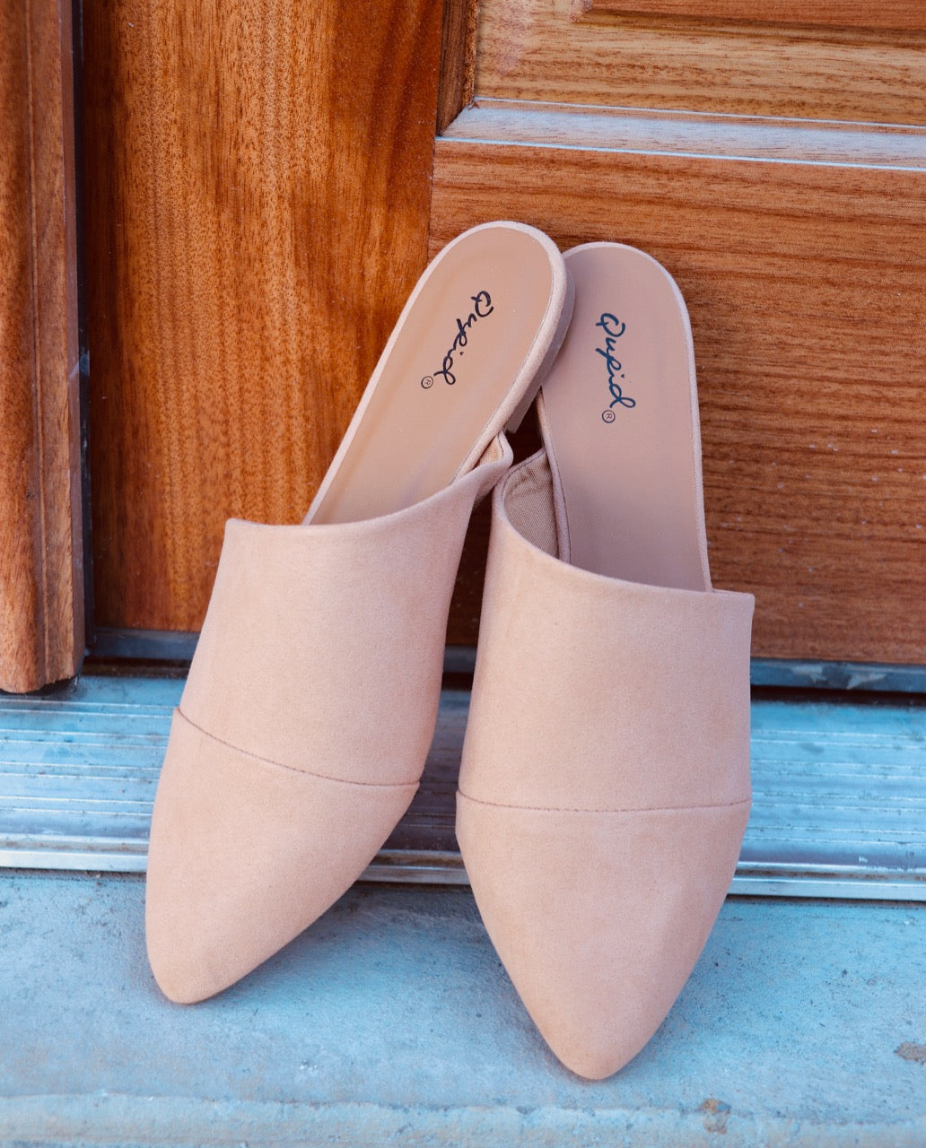 Taupe Mule