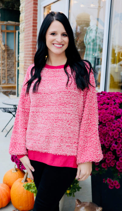 Rose Berry Sweater (S-2XL)