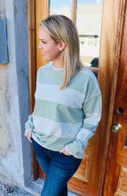 Load image into Gallery viewer, Rugby Sweater- Olive