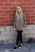 Load image into Gallery viewer, Leopard Hoodie-Brown