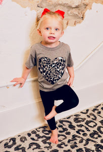 Mommy and Me Leopard Graphic-Kid