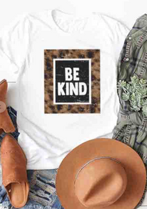 Be Kind Leopard