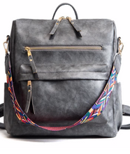 Load image into Gallery viewer, Go Go Girl Backpack-Grey
