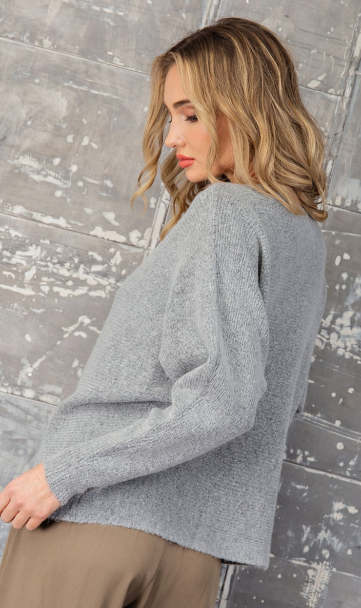 Renee Sweater- Grey
