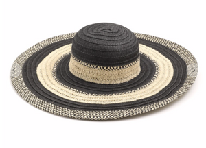 Striped Oversized Sun Hat