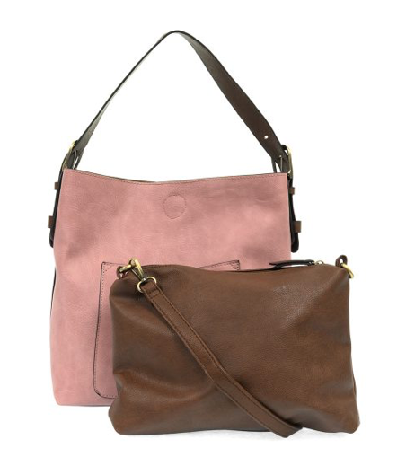 Hobo Bag-Blush