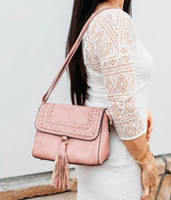 Load image into Gallery viewer, Tassel Purse-Mauve