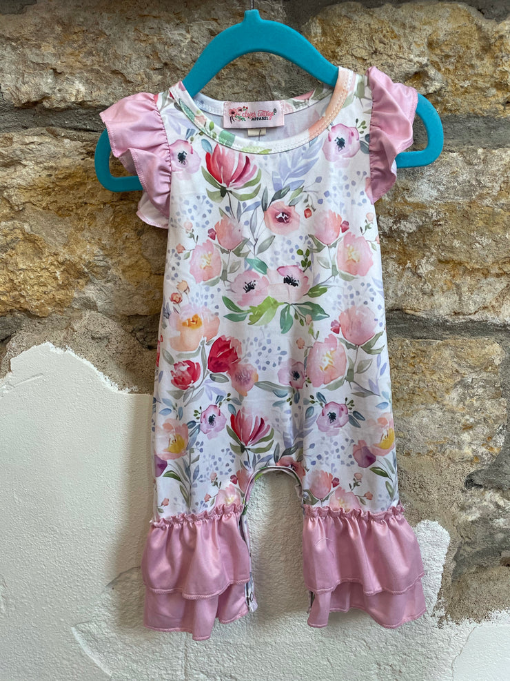 Baby Romper-Pink Blossom