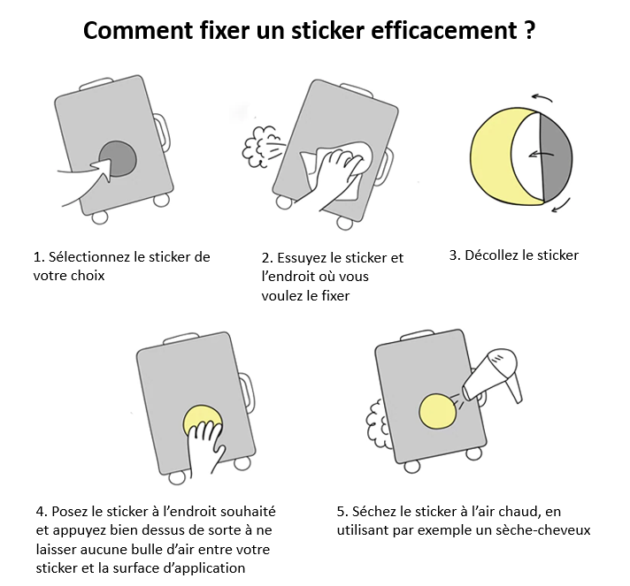 Autocollant trottinette comment fixer son sticker