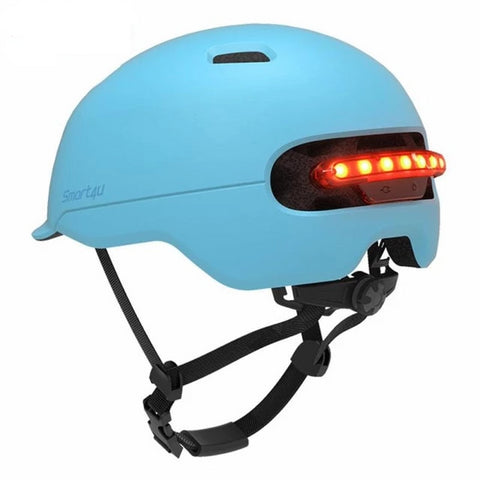 casque trottinette lbel - casque LED lbel