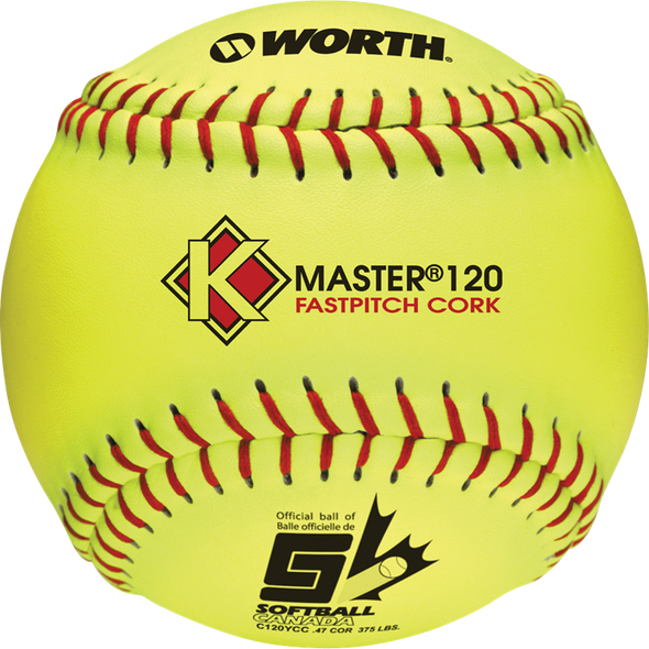 "12"" ASA K-Master 120 COR 47 Optic Fastpitch Softball"