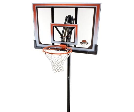 "Lifetime 50"" Adjustable In-Ground Basketball System"