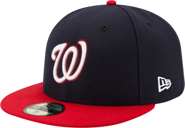 Men's MLB Washington Nationals Authentic Collection 59Fifty Fitted On-Field Alternate Cap