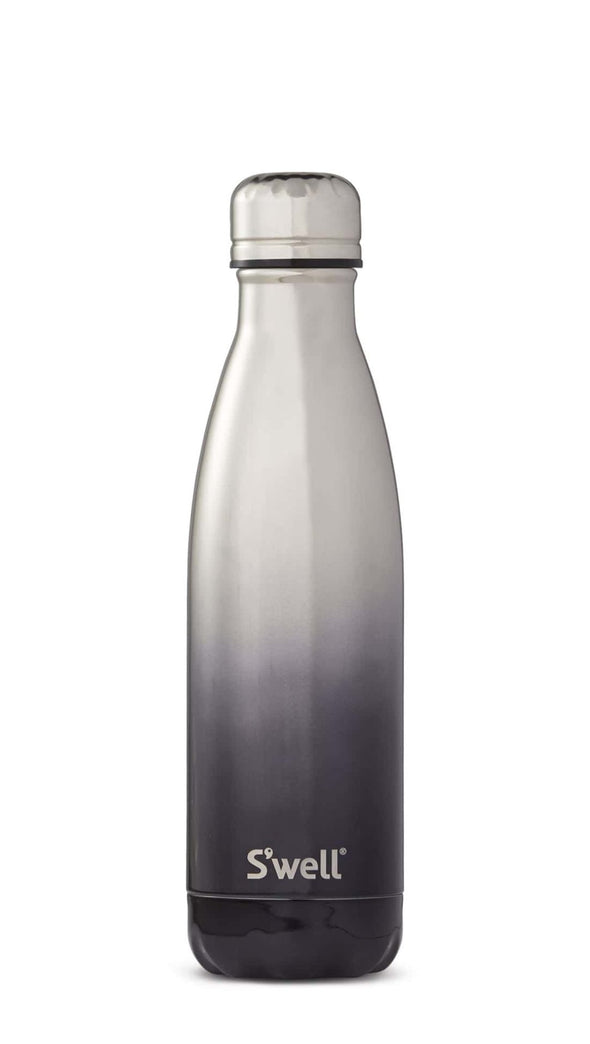17oz White Gold Ombre Water Bottle