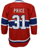 Junior NHL Montreal Canadiens Carey Price Premier Home Jersey
