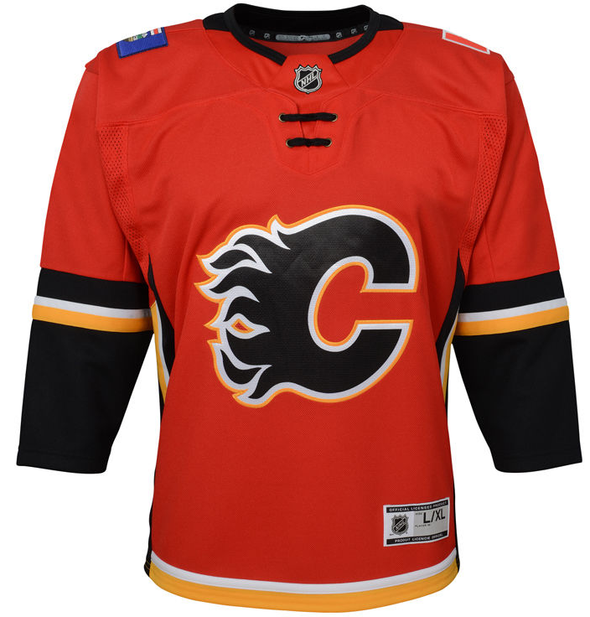 Child NHL Calgary Flames Premier Home Jersey