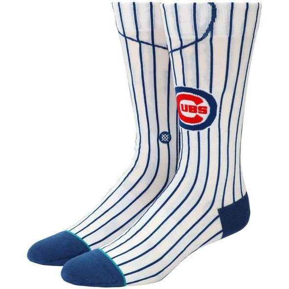 Men's MLB Chicago Cubs Home Jersey Crew Socks