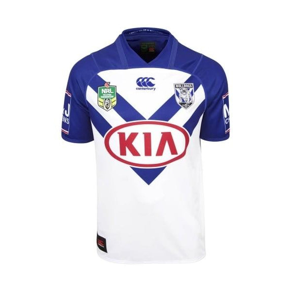 Men's Canterbury-Bankstown Bulldogs VapoDri Pro Home Jersey