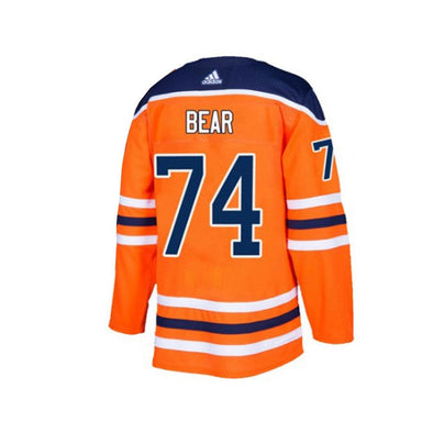 Men's NHL Edmonton Oilers Ethan Bear Authentic Home Jersey